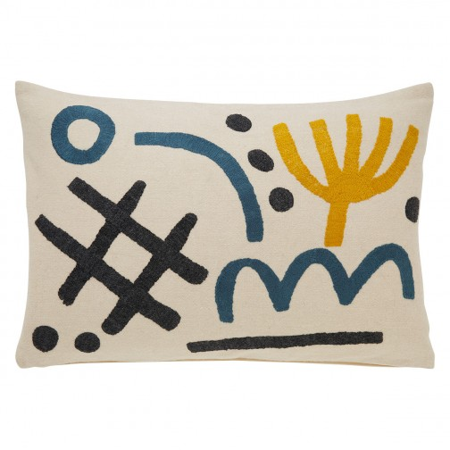 HABITAT GINO CUSHION - LOVE the playful pattern of this cushion from Habitat.