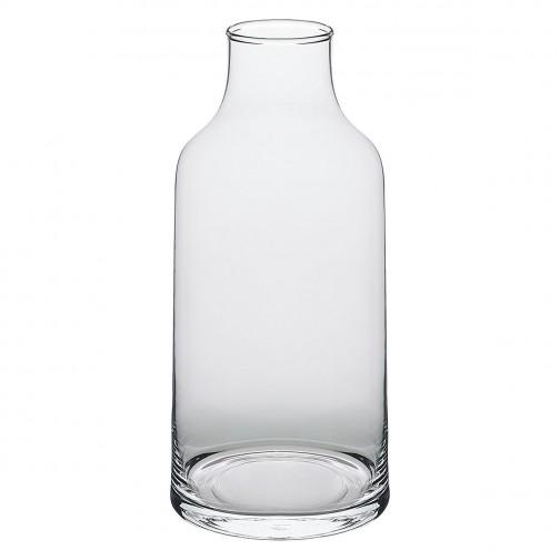 HABITAT LILY CLEAR GLASS VASE -