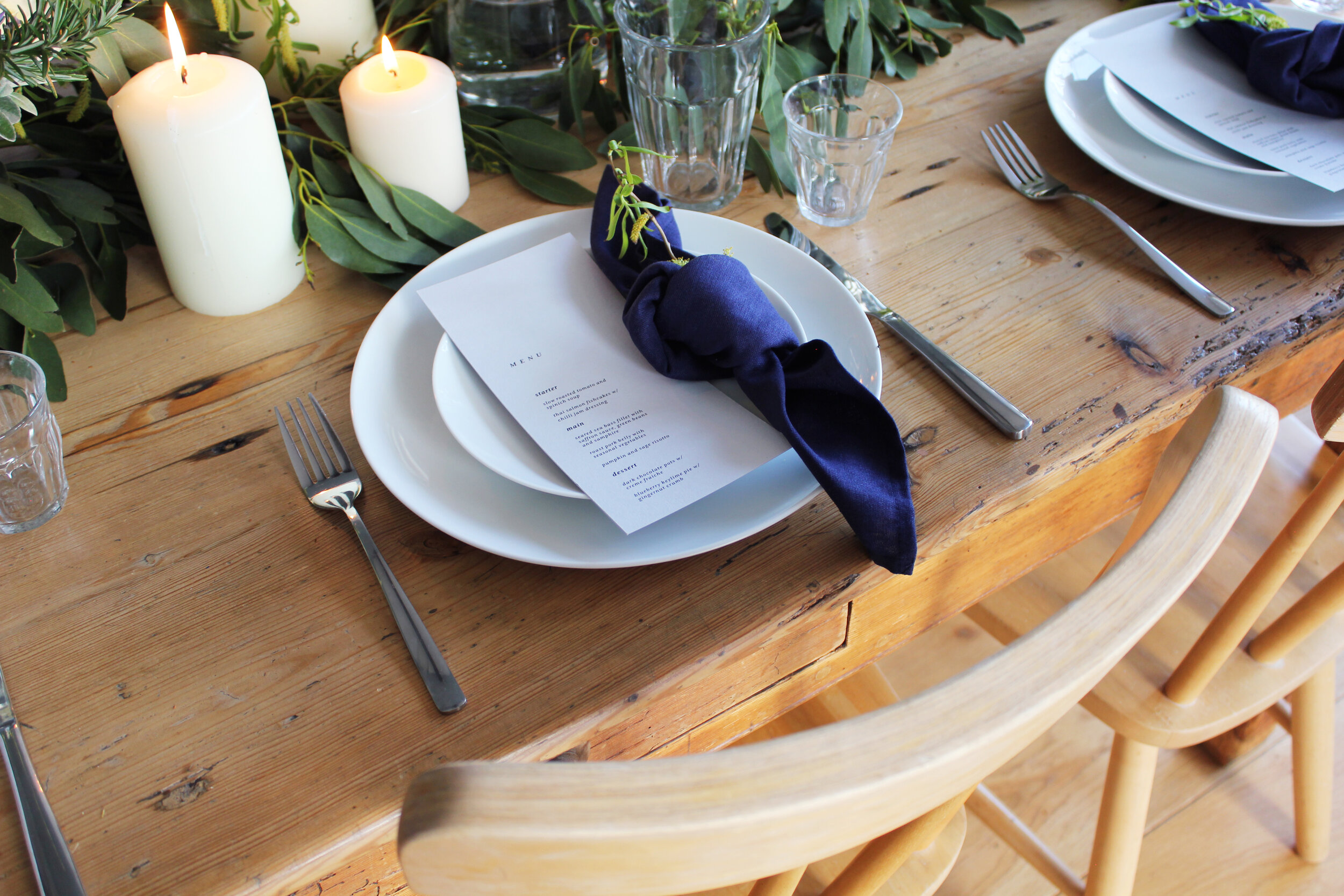 Callie Pettigrew Springhill Florals Styling Event Table Dressing Rustic