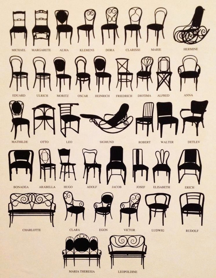 variety of thonet chairs.jpg