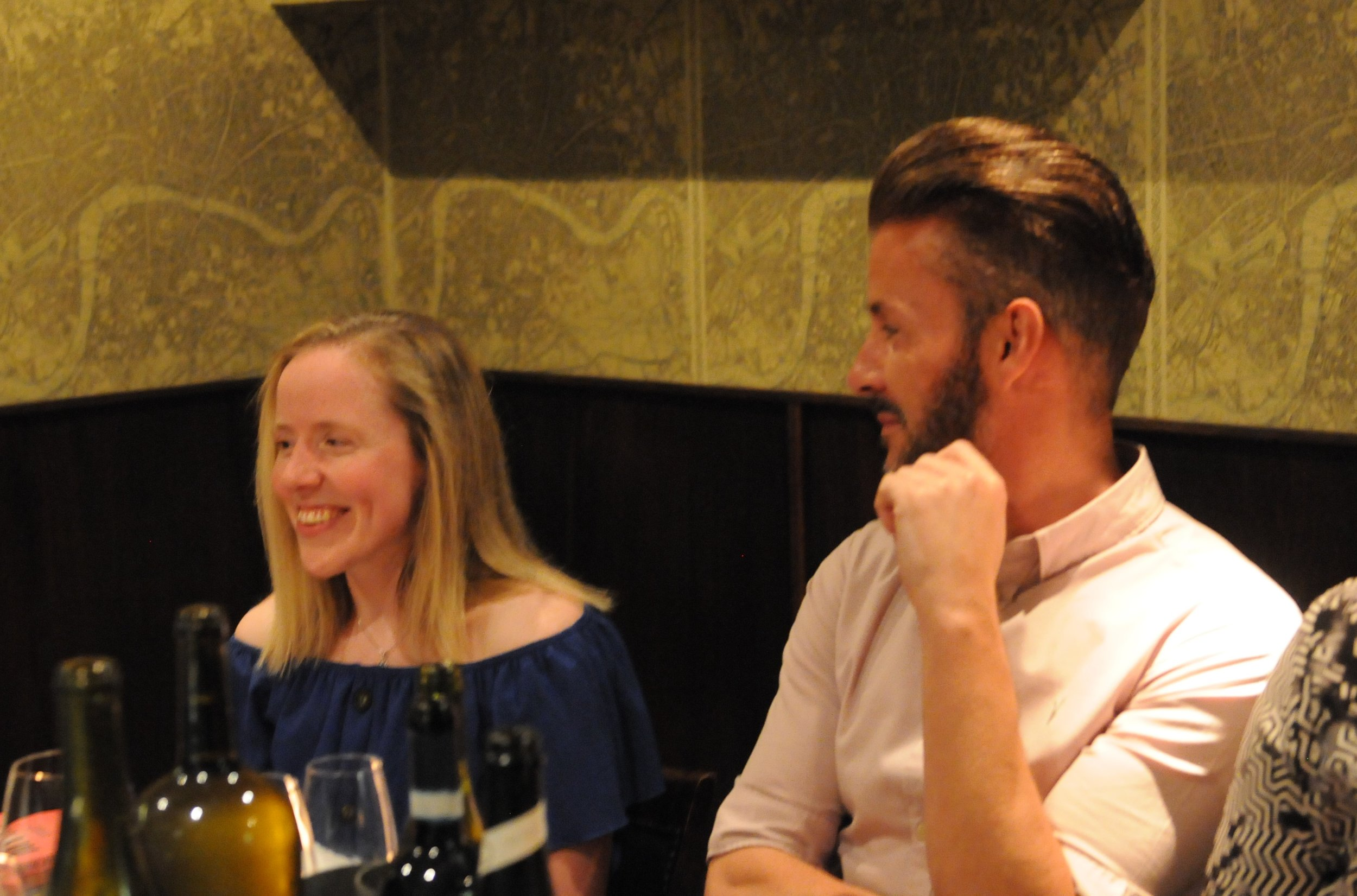 Lora Fachie and Dean Hunter at the Chapters Dinner.jpg