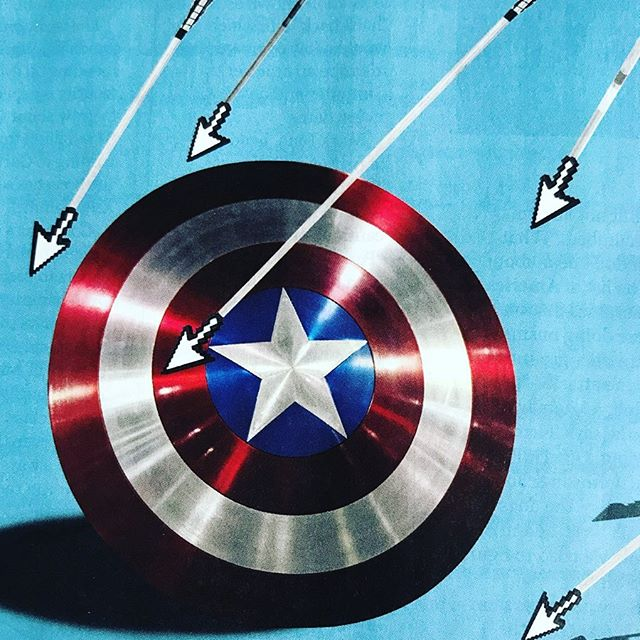 """#captainamerica 's shield to save corporate America from #cyberattack @fortunemag """"There are two types of companies: those that have been hacked and those that don't yet know they've been hacked,"""" says #hackersleuth #entrepreneur #dmitrialperovitch of #crowdstrike"""