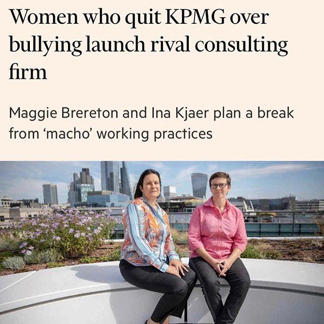 Huge congratulations #maggiebrereton and #inakjaer at #eosdealadvisory @financialtimes