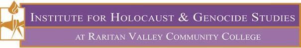 Institute for Holocaust _ Genocide Studies at Raritan Valley Community College Logo.jpg