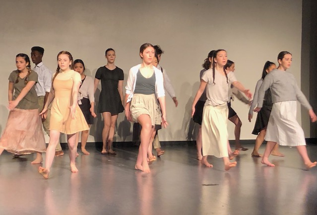 "- Mackenzie's dance company performed to the song ""Yet We Persist""."