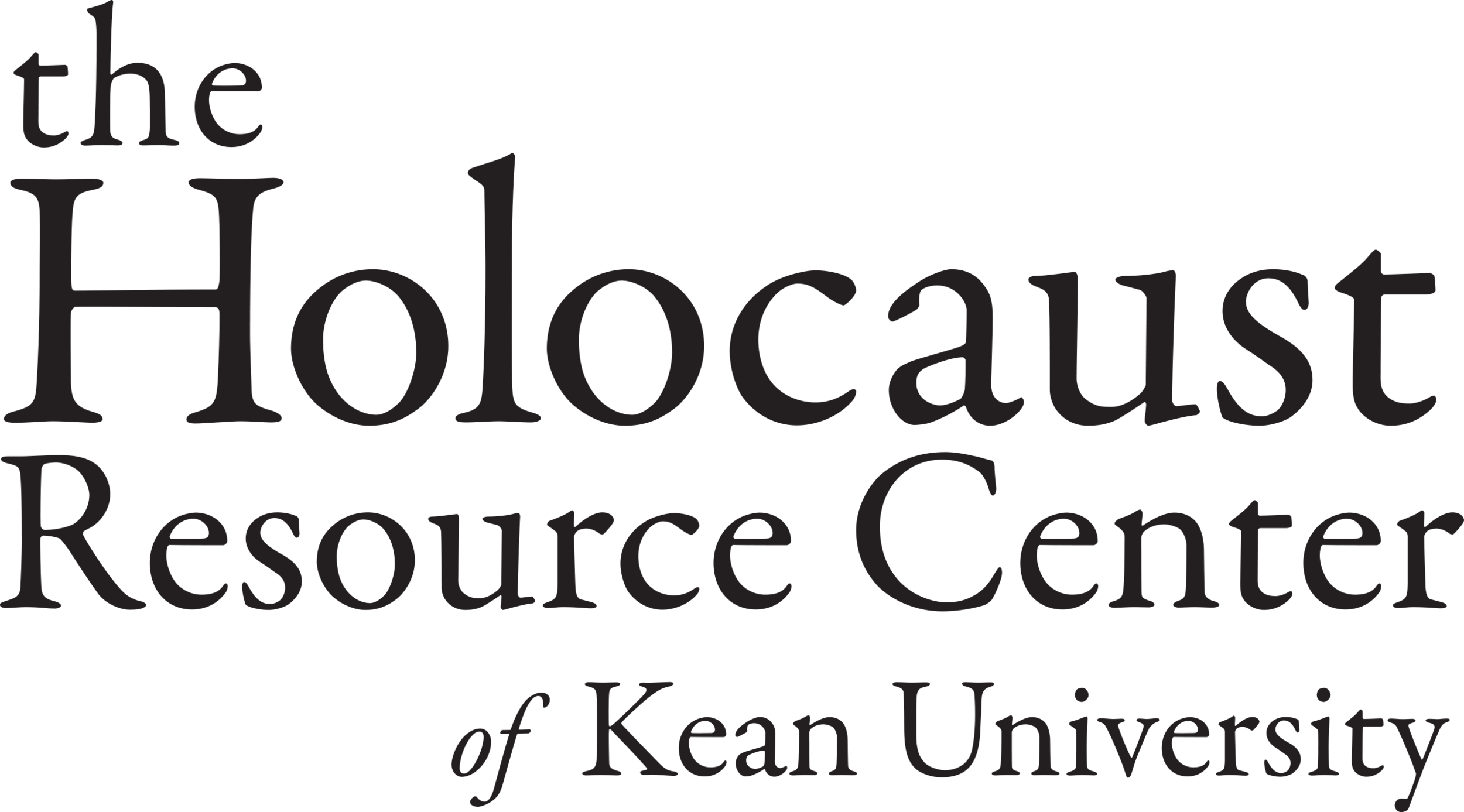 Holocaust Resource Center of Kean University Logo.png