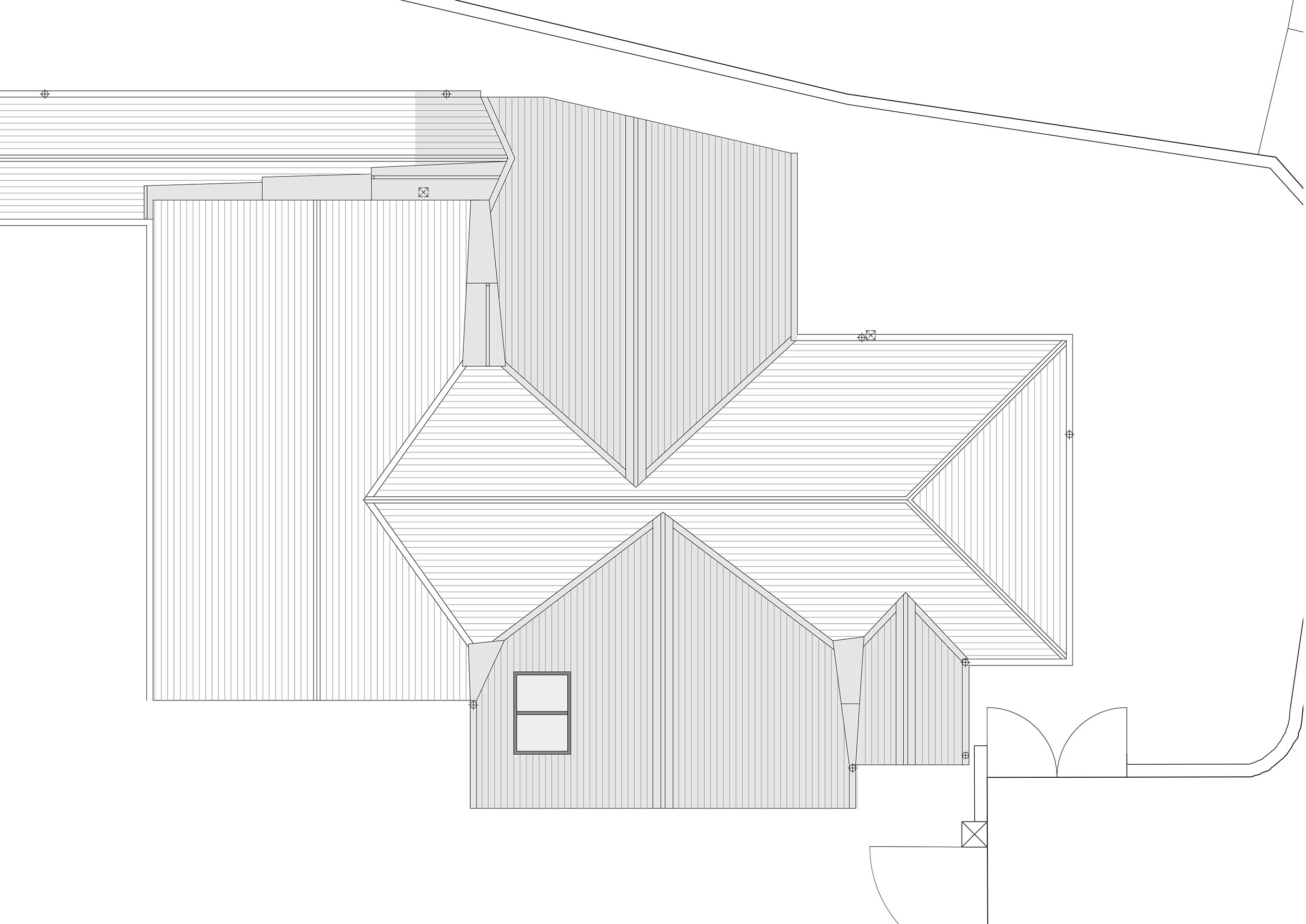 Part Roof Plan