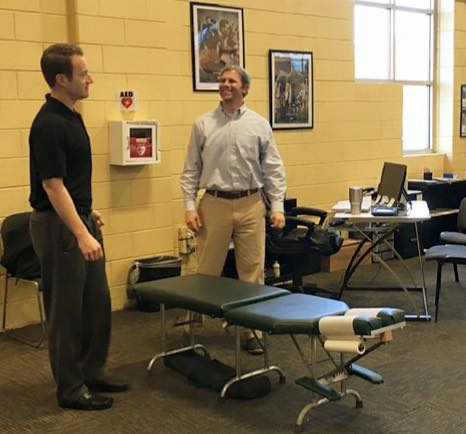 Chiropractic service offered in your place of business