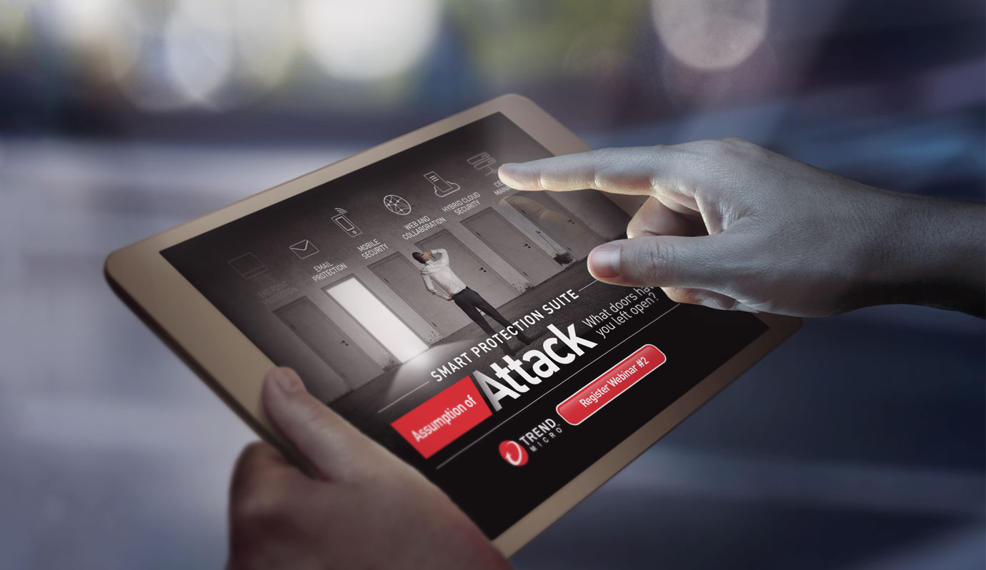 Digital advertising campaign  - Trend Micro