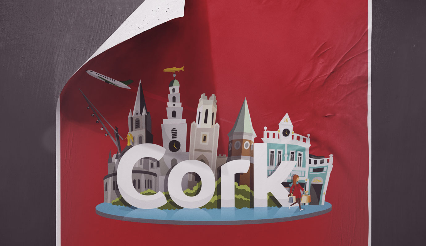 Cork Service sticker illustration  - Cork City Council