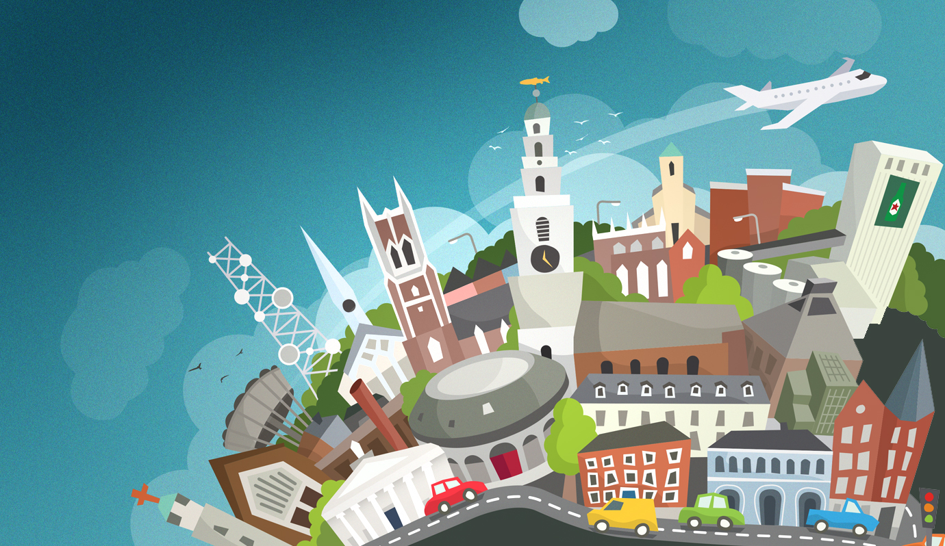 Cork Northside Illustration  - Personal work
