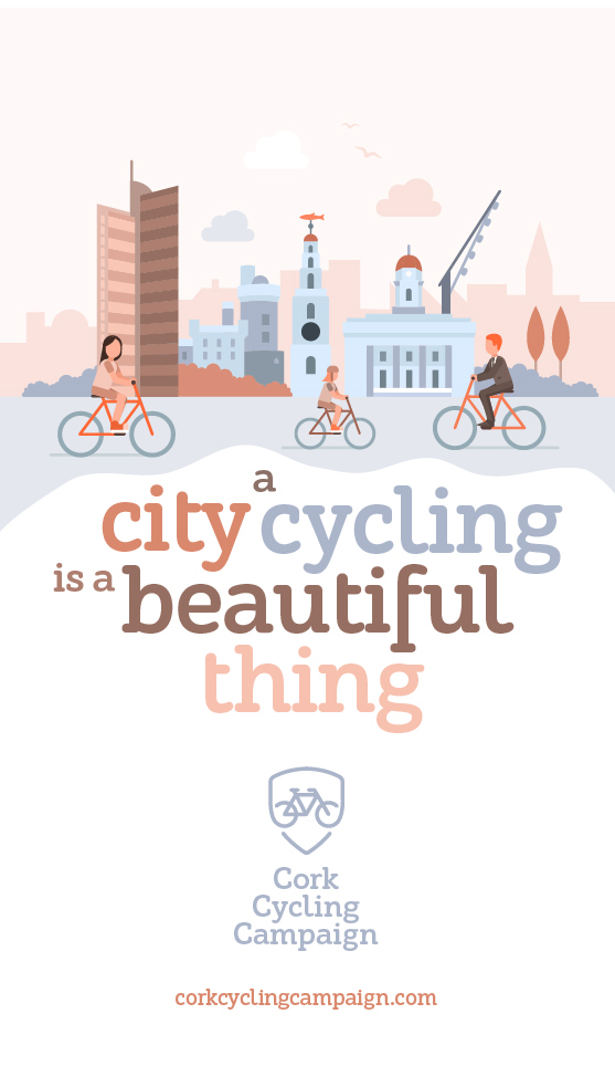 Illustration  - Cork Cycling Campaign