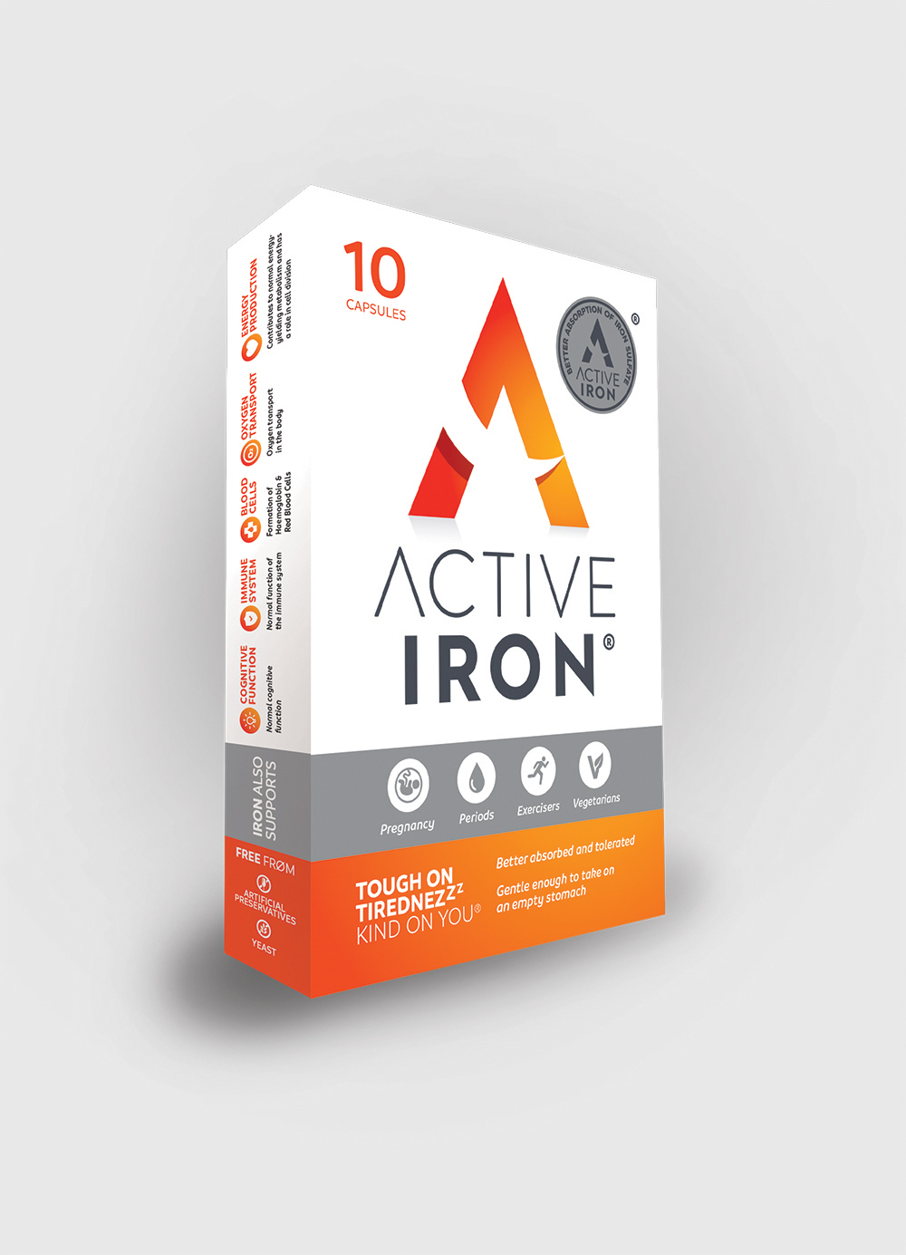 Branding / packaging design  - Active Iron