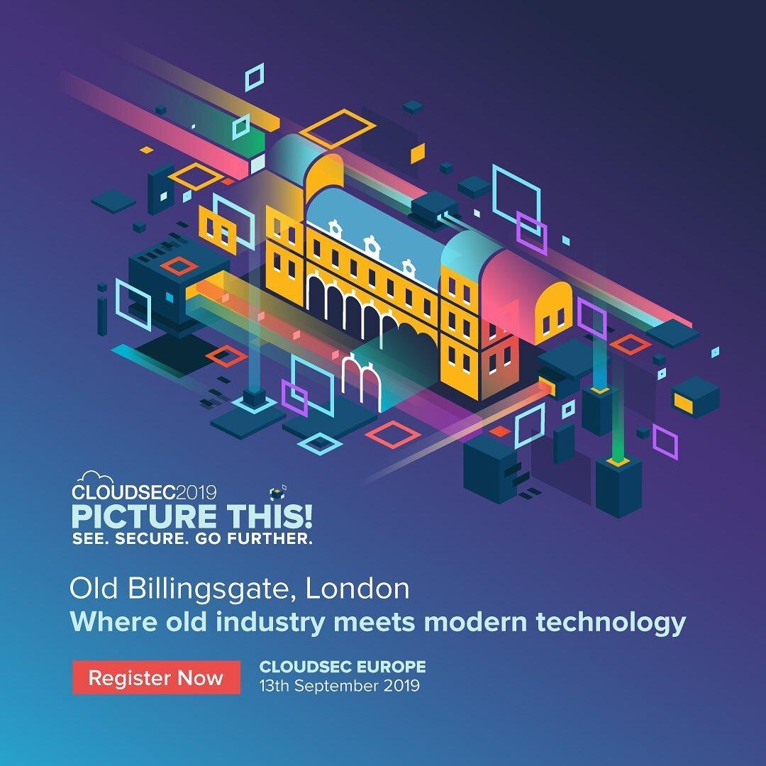 Billingsgate London, Isometric Illustration -  Cloudsec2019