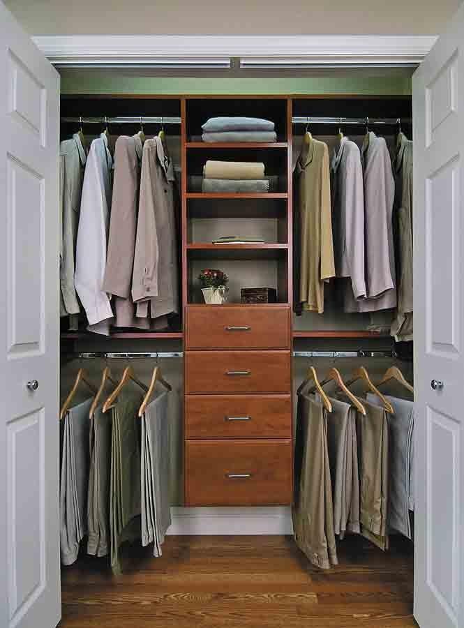 Custom Bedroom Closet Organization & Storage Solutions in New York