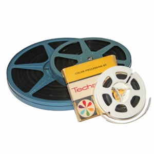 8mm (Regular 8) - The original consumer film format introduced in the 30s (widely adopted in the 40s).