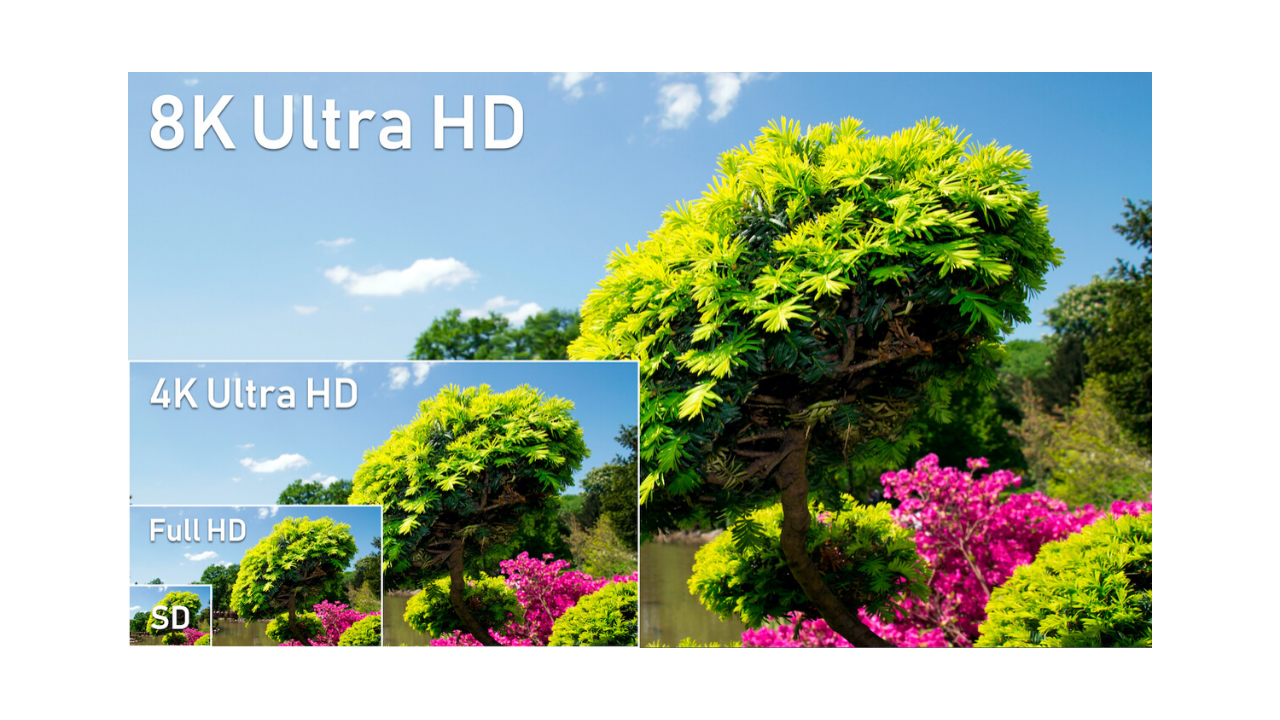 Standard Definition - Standard Definition (SD) is the equivalent of DVD resolution. The aspect ratio is more square, like film, and you will get most of the useful detail from regular 8mm and Super 8 film.