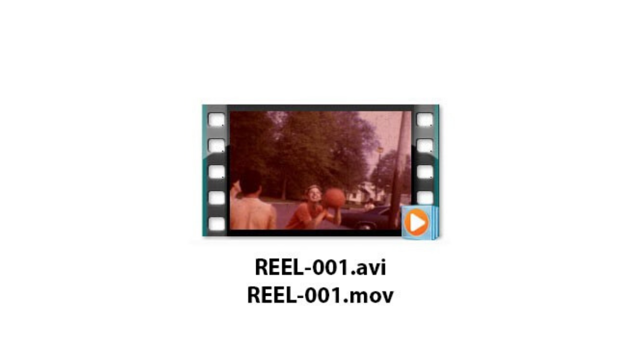 Direct Service - Direct service includes editing so that you receive one complete file for each reel or group of small reels. Blank or obviously unwanted areas are removed along with any leader in the editing process.