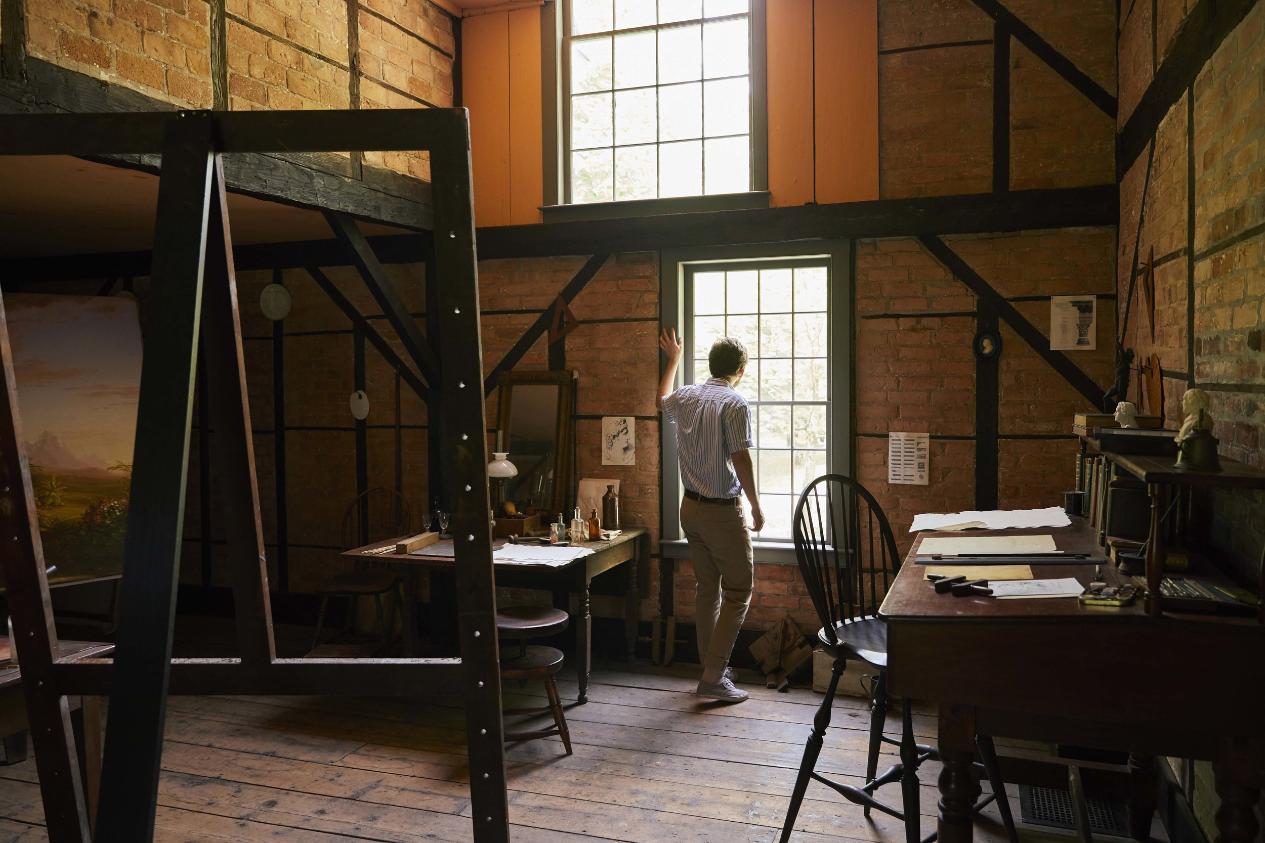 Thomas Cole National Historic Site, Old Studio