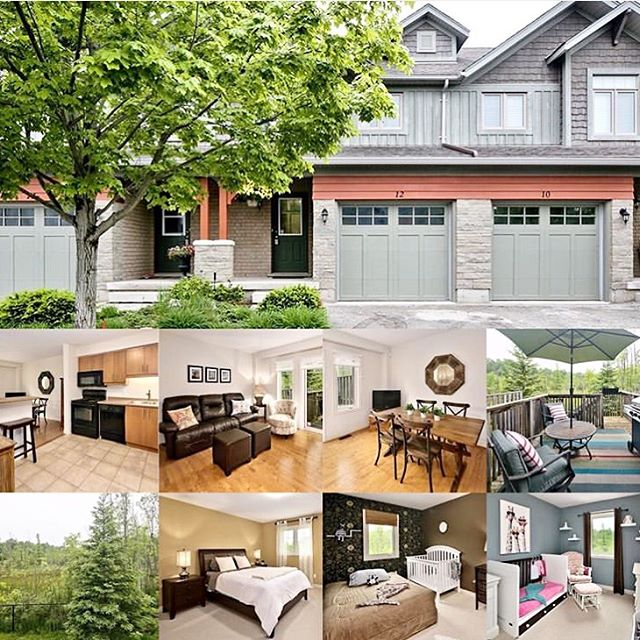 Open House alert 🚨 11am - 1pm. . 12 Silver Glen . Located in Collingwood's west end, this 3-bed 3-bath condo backs onto green space 🌱  Come see this four season property in its beautiful resort style setting. 🔆