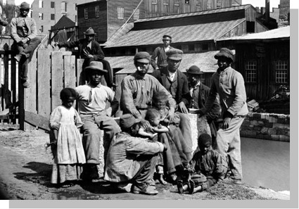 Enslaved Africans in pre-Civil War Virginia