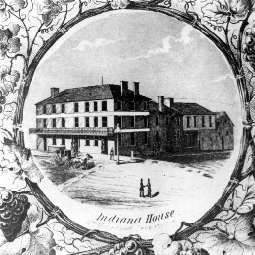 The Indiana House, Sheriff Raston, Proprietor
