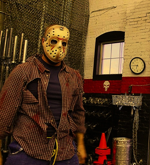 Halloween's not very far away but today is  Friday the 13th…