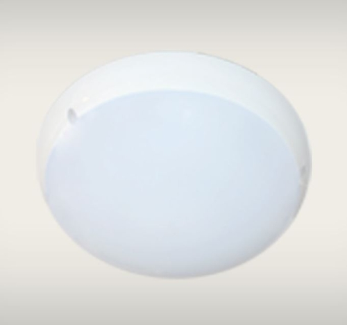 LED Flush Mount Round Fixture with Daylight and Occupancy Sensors