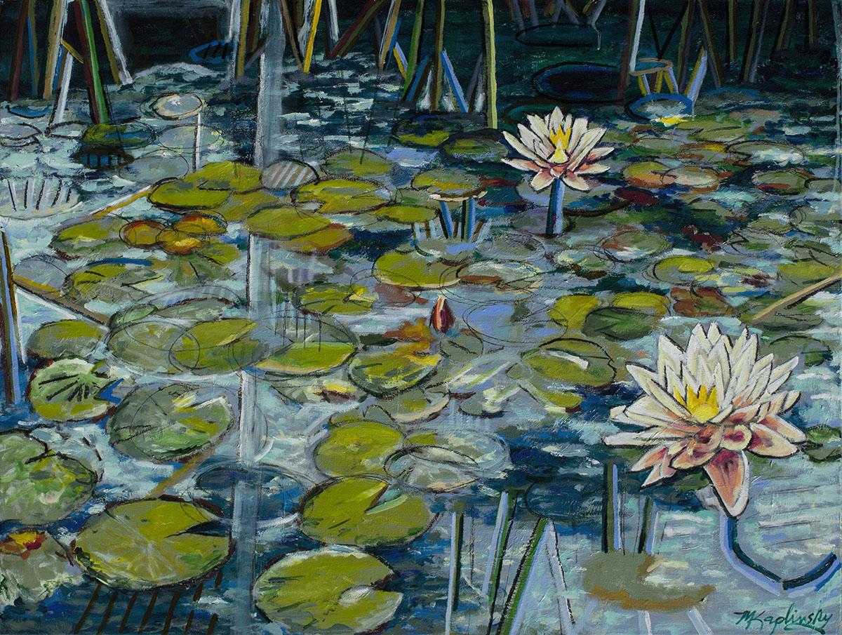 Summer Water Lillies - $3200