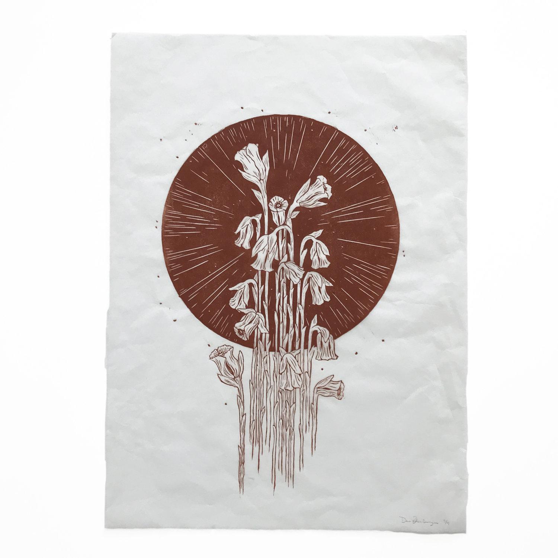 Ghost Flower Medallion - $550