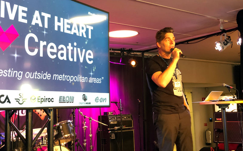 Photo: Creative House Source: https://creativehouse.se/nytt/succe-for-entreprenorfestivalen/