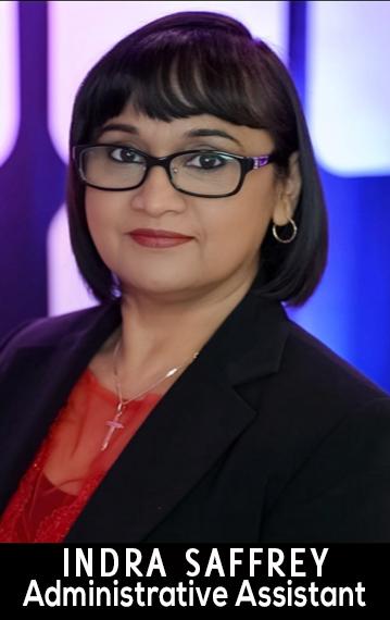 INDRA SAFFERY | Administrative Assistant