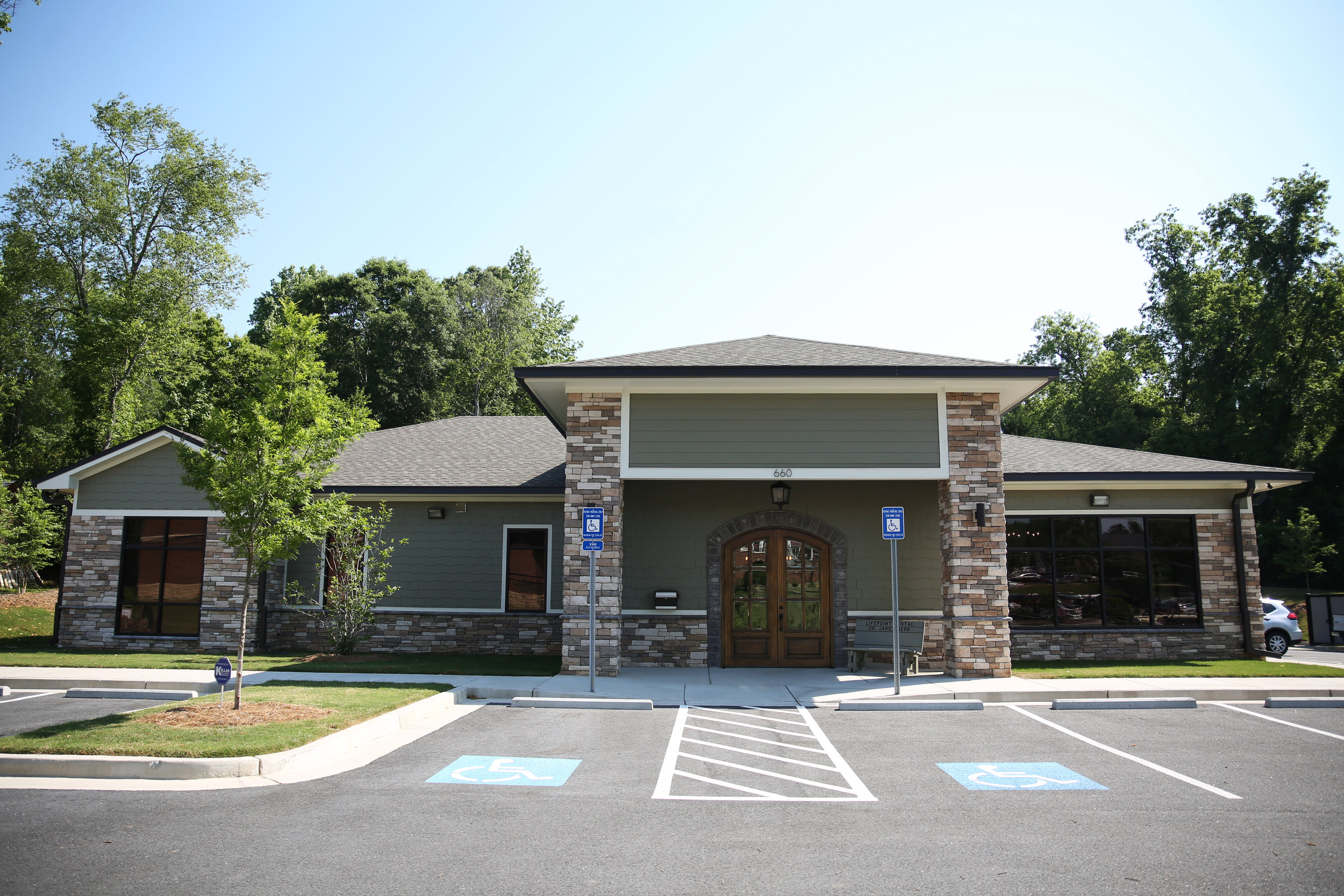 Life Point Dental- Jefferson, GA.  Constructed in 2017.