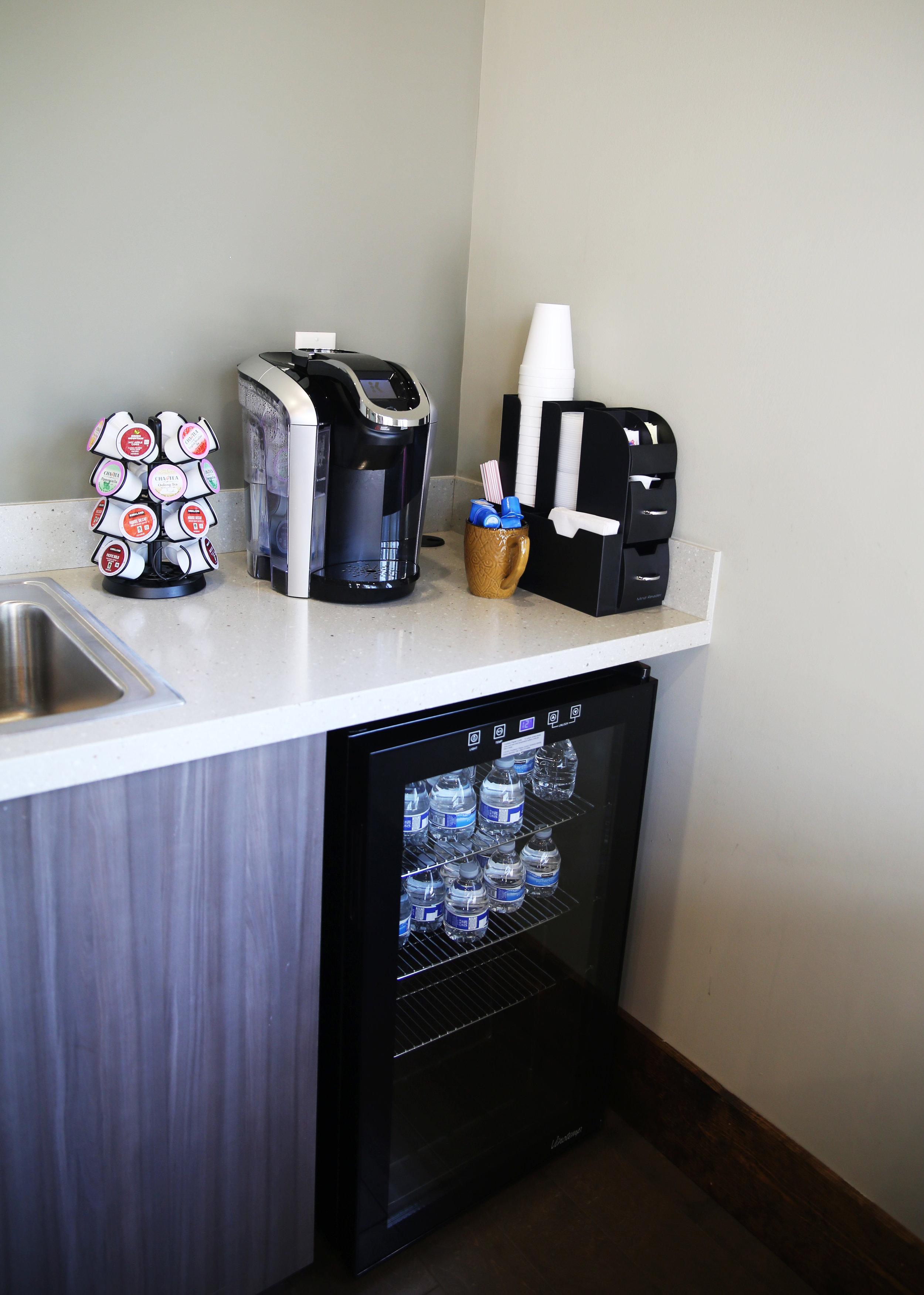 Dental Office Beverage Area- Jefferson, GA