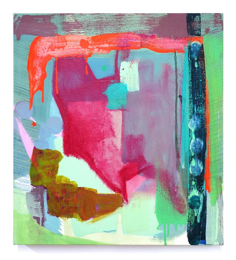 "Spectoral Envelope  22 x 20"" oil on canvas"