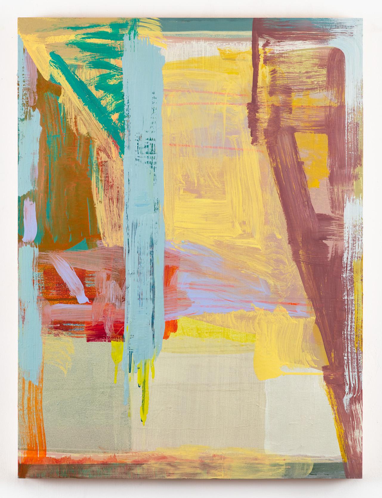 """Erasher  40 x 30"""" oil on birch"""