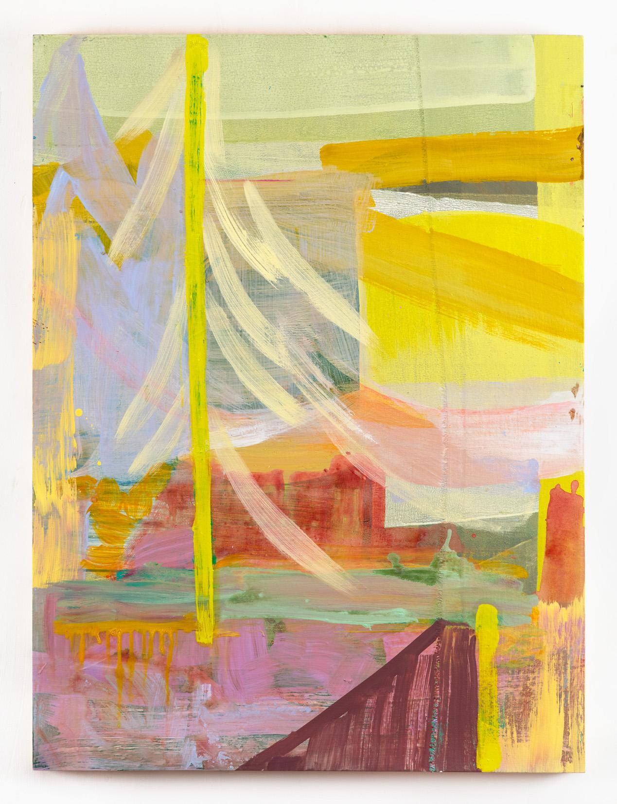 """Zephyr  40 x 30"""" oil on birch"""