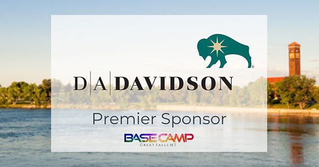 |Saturday Sponsor Feature| We are thrilled to announce a new Premier Sponsor!! // Thank you D.A. Davidson of Great Falls for supporting this bold community event!! Thank you for believing in our effort and for promoting Great Falls in a positive manner. 🌳🚴🏼‍♂️🚣🏽‍♀️🏢 // If you are interested in becoming a part of this event either through sponsorship or participation, please email us at basecampgreatfalls@gmail.com 📧 // #basecampgf #basecampgreatfalls #livegreatfalls #choosegreatfalls #community #premiersponsor #lovegreatfalls #dadavidson