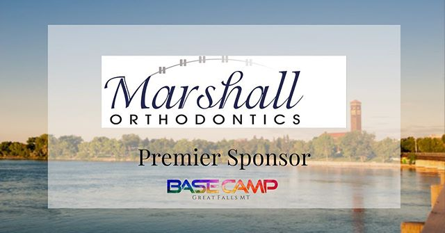 Once again, we're extremely grateful for the support our community has shown us! #BaseCamp will not disappoint this Saturday 🙏🏼 Thank you to Marshall Orthodontics for your generous donation. — You can find all of our amazing sponsors listed and linked on our website! Link in bio 🔗💻💯 #DiscoverGreatFalls #basecampgreatfalls #basecampgf #local #community #greatfalls #Montana #livegreatfalls #choosegreatfalls #shopgreatfalls #playgreatfalls #visitgreatfalls #lovegreatfalls