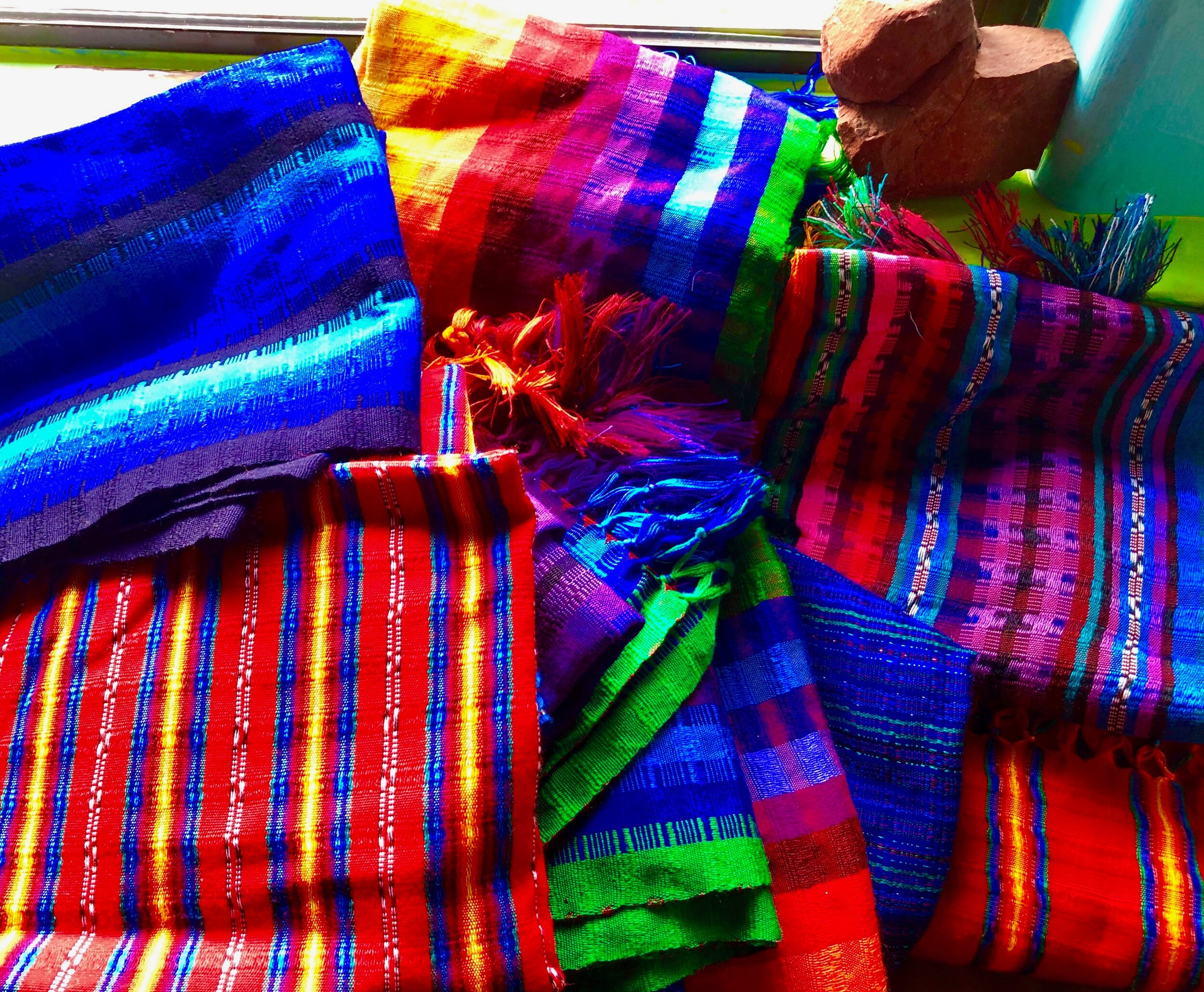 Traditional Rebozos - All clients are gifted a Guatemalan Rebozotrusted comfort in labor