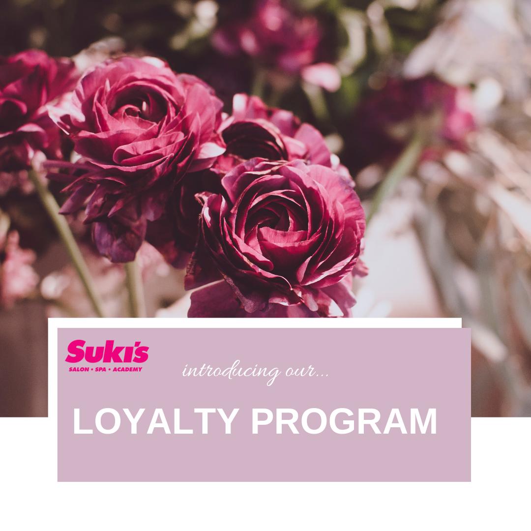suki's salons | loyalty program