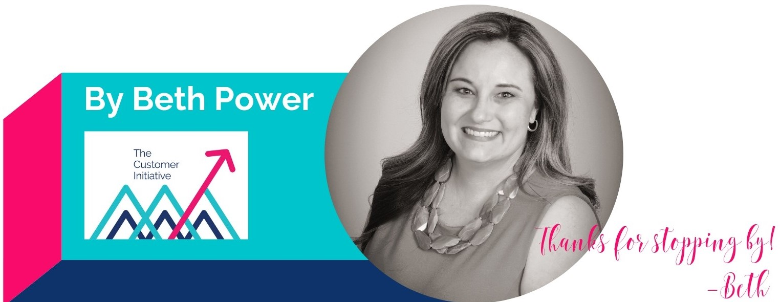 Blog signature of Beth Power, The customer Initiative, customer success consulting and SaaS expert.
