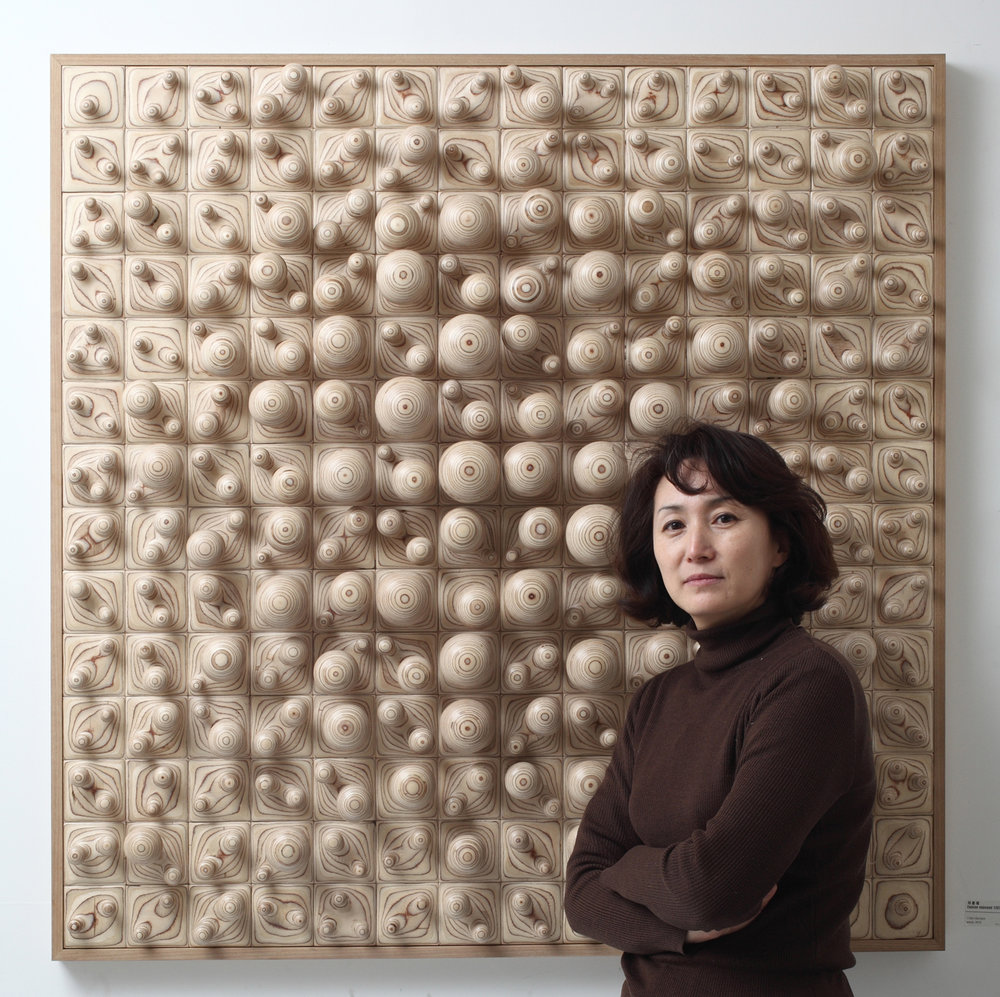 Cha Jong Rye - Born in Daejeon, Korea and the recipient of an MFA in Sculpture from Ewha Women's University in 1996, sculptor Cha Jong Rye meticulously crafts works which have been featured in exhibits and collections worldwide.