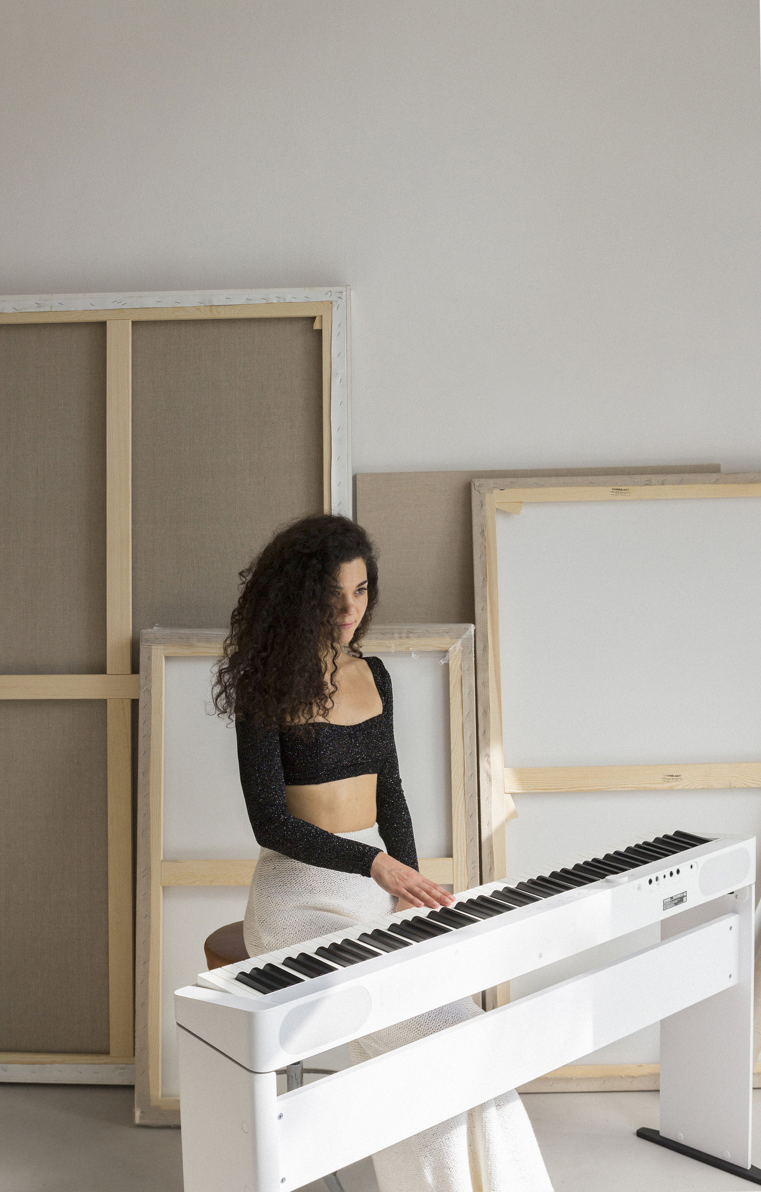 Marta Cascales Alimbau - Pianist & ComposerBarcelona — InternationalA professional pianist and composer from Barcelona, focused on creating a repertoire with the piano as a main instrument and with a strong interest in composing music for Dance, Film and Art Installations.