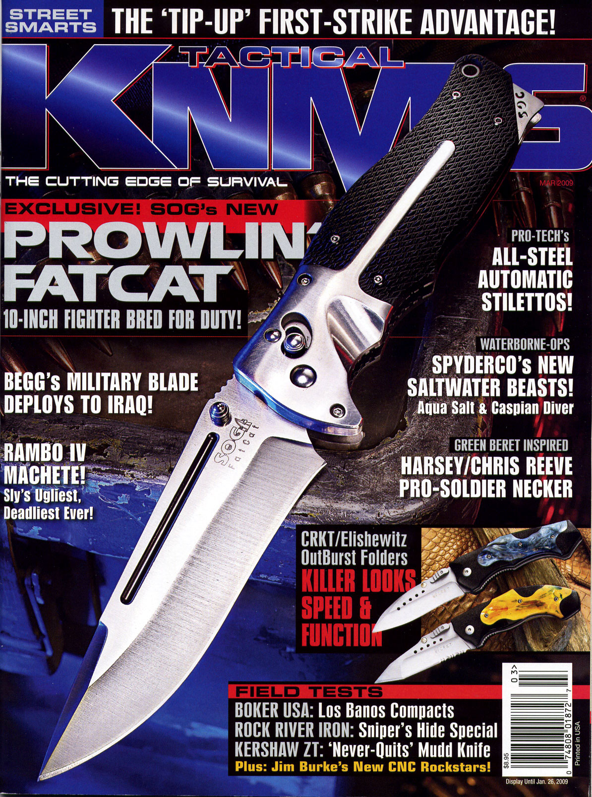 Tactical Knives Magazine, March 2009