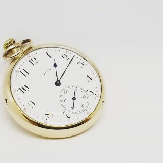 12s Elgin Dress Pocket Watch