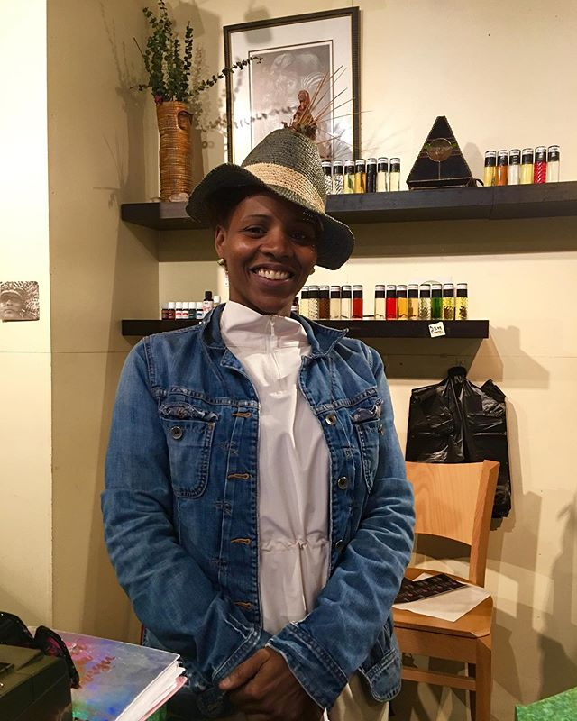 """As small business owners, we make a little, we sell a little, and we live a lot. It's constantly an honor to work in a diverse space that shares the same value and end goals."" Maisah Blanton, Co- Owner of Rituals  Come visit Maisah at Rituals inside the Midtown Global Market.  #minneapolis #stpaul #twincities #midtownglobal #market #publicmarket #midtown #minnesota #mn #midwest #culture #diversity #stories #entrepreneurs #smallbusinesses #shoplocal #smallbiz #friendofglobalmarket  #shoplocal"