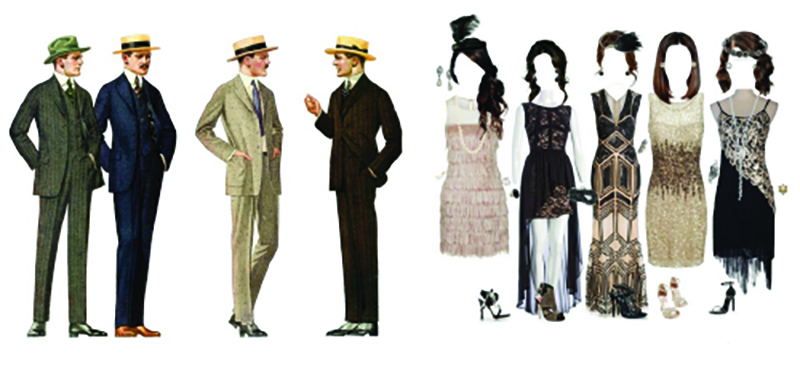 1920's attire - Themed attire is encouraged