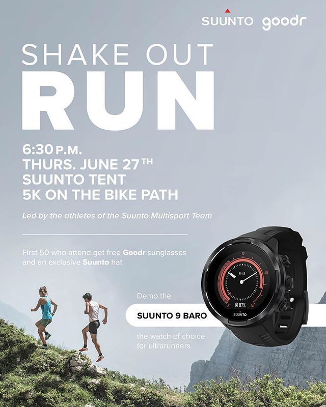Are you headed to Western States next week? We are!  Join us for a shake out 5k on Thursday the 27th - The first 50 folks will go home with some @suunto swag and a pair of @goodr sunglasses!! Don't miss out. . #westernstates100 #goodr #wser #trailrunning #ultrarunning #suunto9 #trailteam