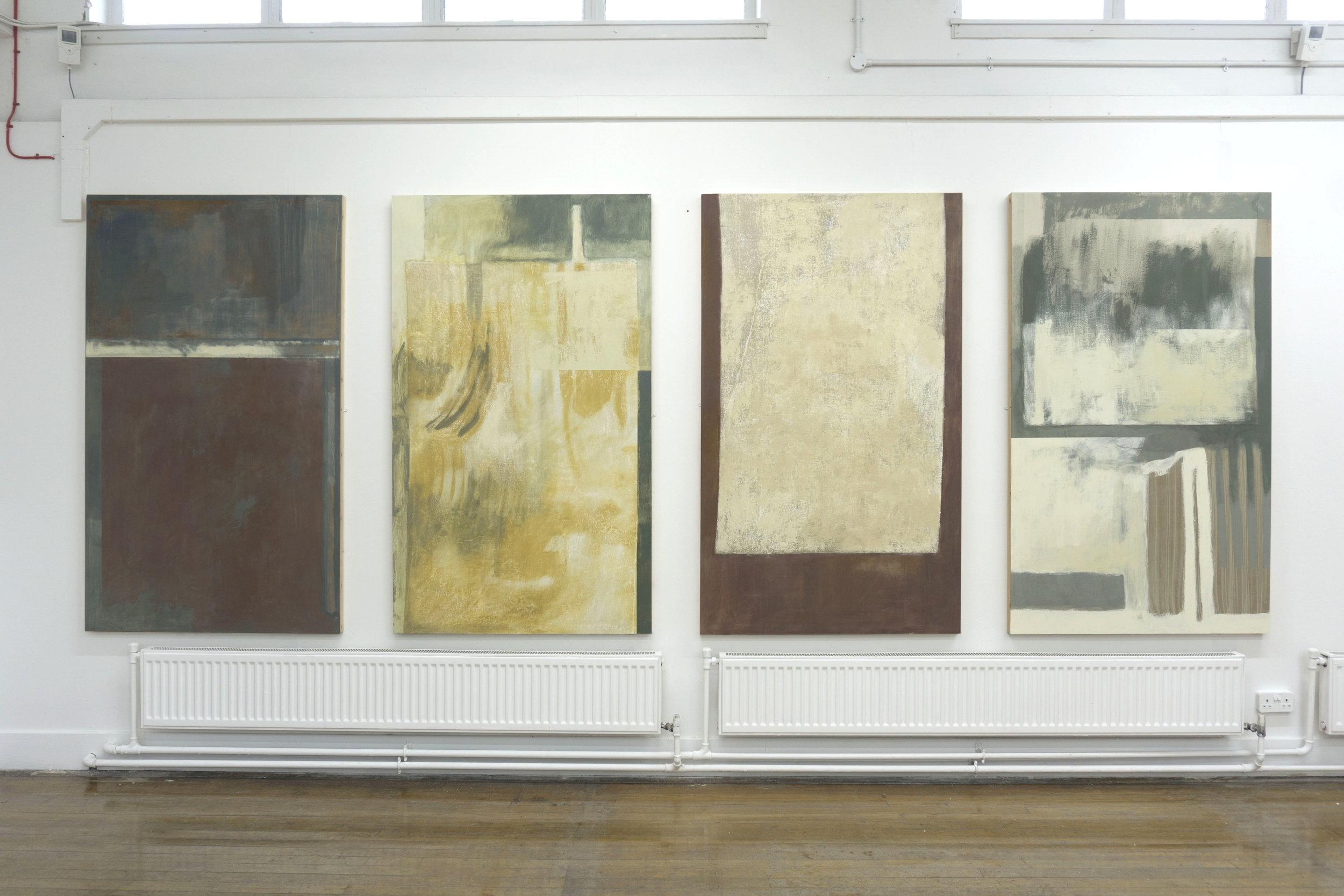 4x(100x170cm) Displayed in Duncan of Jordanstone college of art and design